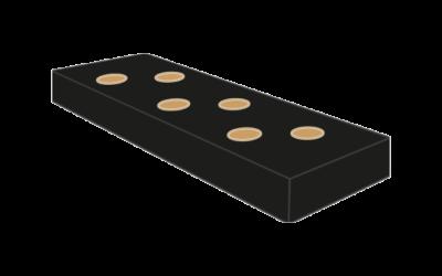 Substratsack 100x15x8cm schwarz
