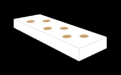 Substratsack 100x15x8cm weiß