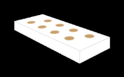 Substratsack 100x20x8cm weiß